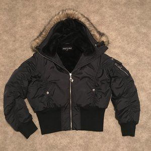 VTG Baby Phat Authentic Puffer Jacket Sz L